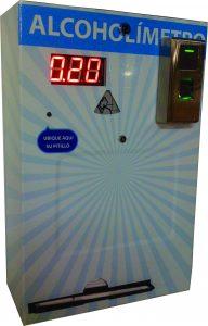 alcoholimetro ALCOMAX alc10.000 CON BIOMETRICO